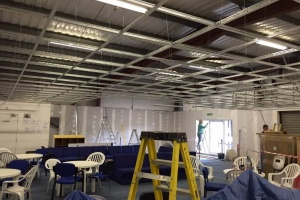 Swansea Gymnastics Centre – Work-Starts-6